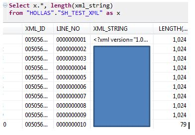 xml date pattern value a closer look at tables that contain lob data type columns