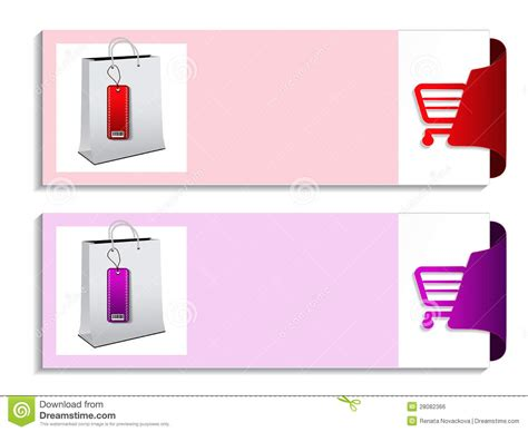 product banner template product banner shopping offer template royalty free