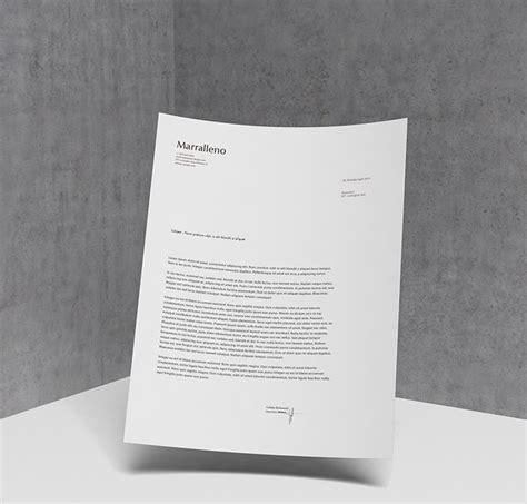 psd letterhead mockups freecreatives