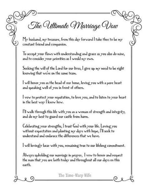 non religious wedding ceremony template christian wedding vows best photos page 4 of 4