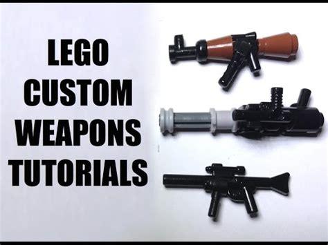 lego minigun tutorial lego custom weapon tutorials daikhlo