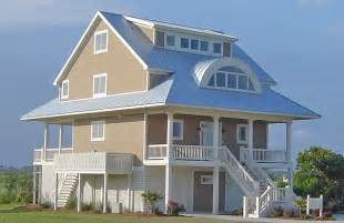Waterfront House Plans On Pilings Southern Cottages House Plans Waterfront House Plans
