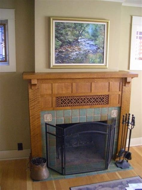 Arts And Crafts Fireplace Mantels Arts And Crafts Mantles