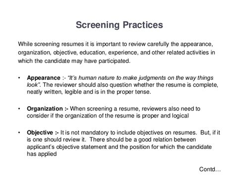 Resume Screening by Resume Screening