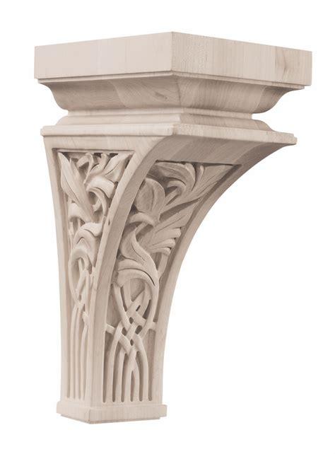 Fancy Corbels 01601457wl1 Nouveau Decorative Wood Corbel Large Walnut