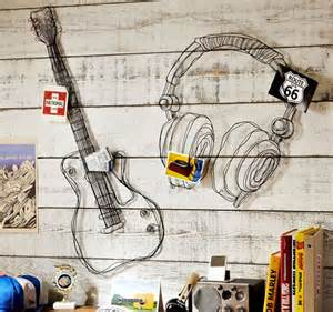 Music Themed Wall Decor Use Accessories To Create Kid S Room Theme Music