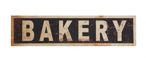 Christian Decor For Home vintage bakery sign vintage reproduction bakery sign
