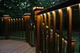 deck lighting ideas led strip lights deck lighting outdoor spaces pinterest lighting design lighting and decks