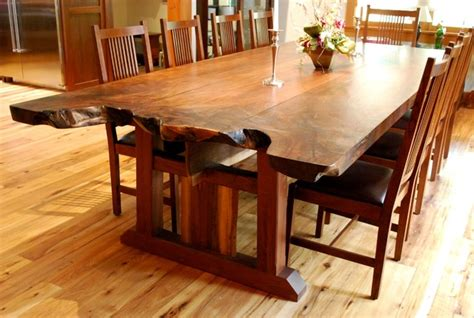 craftsman dining room table live edge dining room tables newwoodworks craftsman dining tables new york by