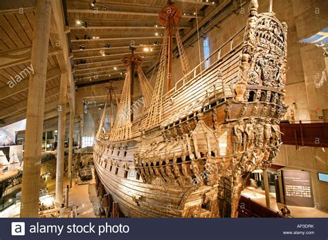 vasa ship museum vasa ship warship in the vasa museum stockholm sweden