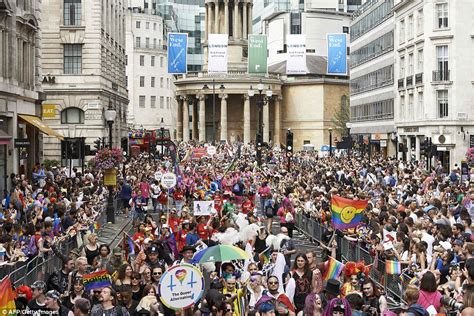 London Pride 1m People Gather For Uk S Biggest Parade