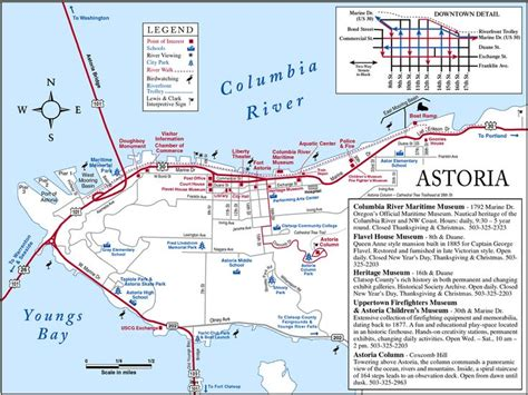 map of cannon oregon map of astoria oregon astoria map see map details from