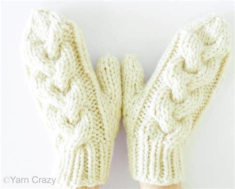 knitting pattern chunky yarn mittens back woods mittens by naturegirlknits1 craftsy