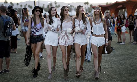 what to wear to house music concert since when were music festivals al fresco fashion shows fashion the guardian