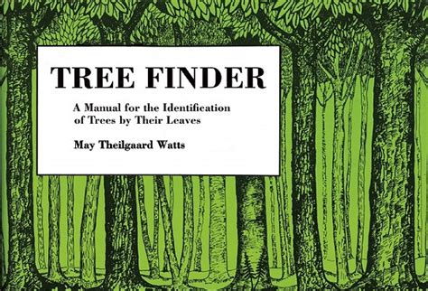tree finder tree finder a manual for identification of trees by their