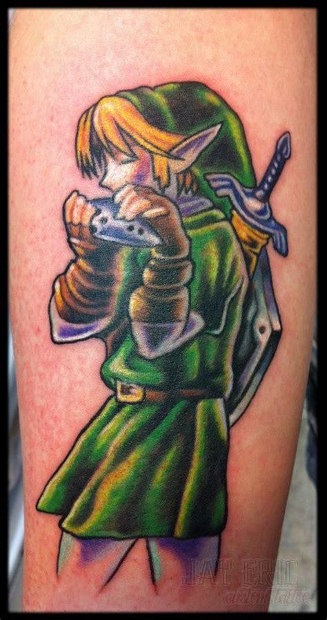 zelda tattoo girl video game tattoos beautiful video game character girl