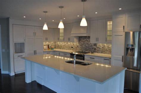 modern shaker kitchen modern white shaker kitchen modern kitchen calgary