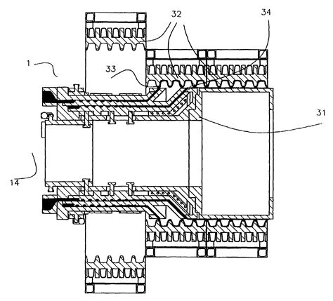 Sketches A Corrugated Bulkhead by Patent Us7074027 Extrusion Die And Method For Forming