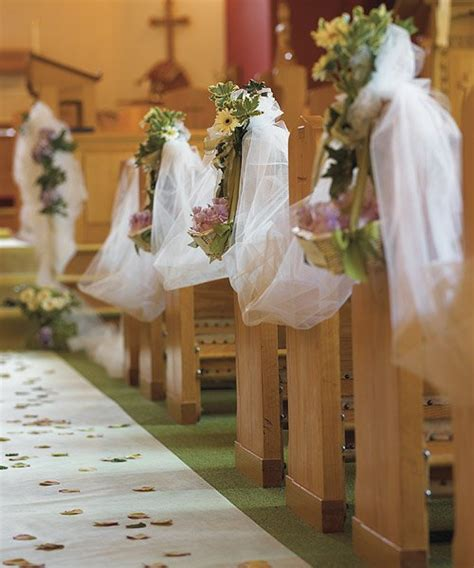 pew decorations for weddings the best wedding decorations best decorations for the wedding church