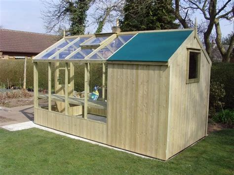 greenhouse shed plans swallow combination greenhouse shed 4 w garden