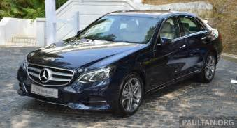 w212 mercedes e class facelift launched e 200