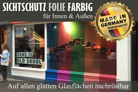 Fenster Sichtschutzfolie Bunt by Bunte Fenster Mit Farbigen Sichtschutzfolien Selber Machen