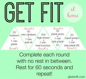 get at home get fit at home glisten fit