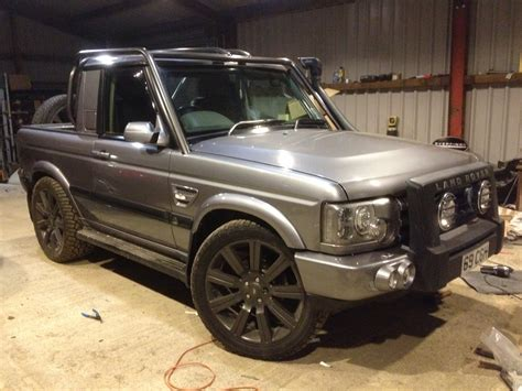 range rover pickup conversion fullfatrr com view topic salisbury plain bobtail disco