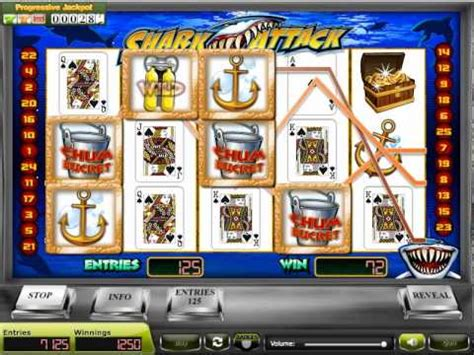 Internet Sweepstakes Games Software - shark attack internet sweepstakes multiline slot game youtube