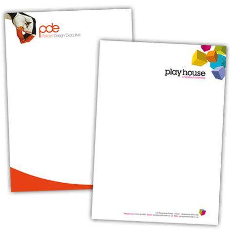 print letter headed paper letterhead printing bluepoleprint ask for linzi rowe