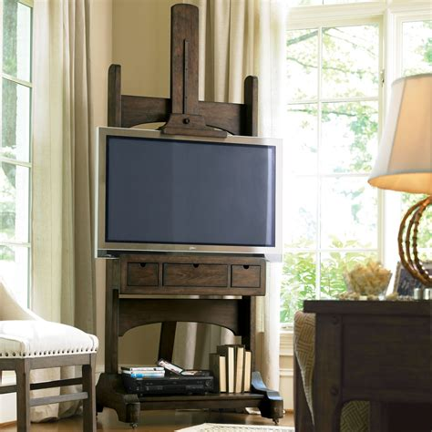 Small Flat Screen Tv For Kitchen - great rooms media easel tv stand whiskey barrel tv stands at hayneedle