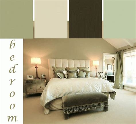 Bedroom Color Scheme Inspiration A Tranquil Green Bedroom Color Scheme Bedroom Paint