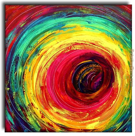 colorful painting 2010 colorful dance circle painting anysize 50 off