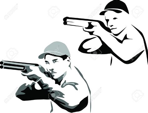 shooting clipart trap shooter clipart clipground