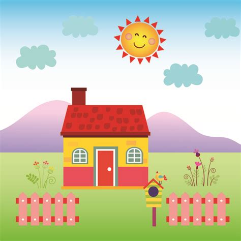 happy house  vector  adobe illustrator ai ai