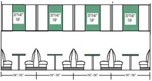 Standard Floor Plan Dimensions Booth Shapes And Sizes Archives Cqbooths