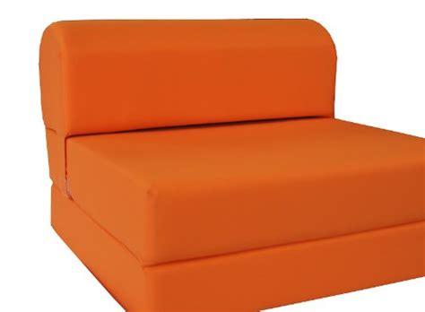 D D Futon Furniture by D D Futon Furniture Orange Sleeper Chair Folding Foam Bed
