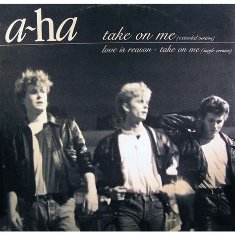 take on me take on me extended version by a ha 12inch with
