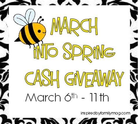 Spring Giveaway - it s a 110 00 cash giveaway