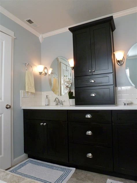 bathroom cabinet remodel before after bliss our monster master bathroom