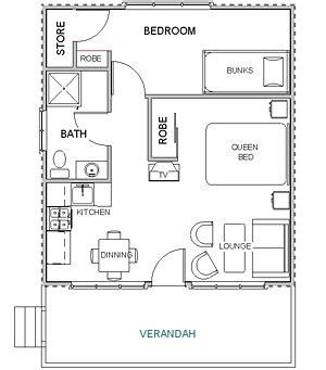 layout plan of cottages belfast cottages studio cottages floor plan
