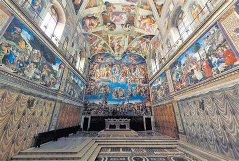 imagenes ocultas en la capilla sixtina la capilla sixtina en m 233 xico reporte noreste