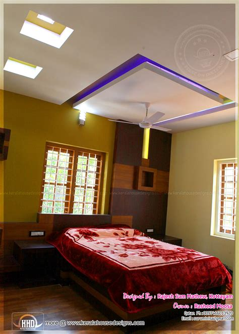 bedroom roof design kerala interior design with photos kerala home design