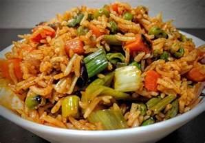 veg fried rice angaara kababs on charcoal