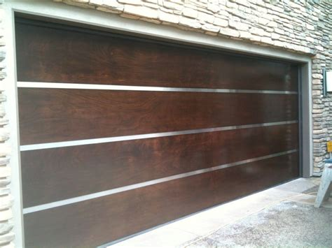 Pacific Garage Doors by Mahogany Wood Door With Stainless Steel Yelp