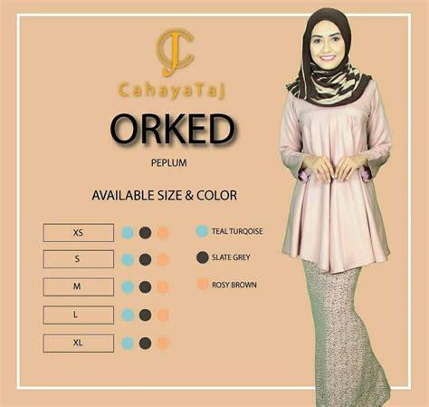 Pakaian Wanita Setelan Seoul Peplum Terbaru koleksi pakaian muslimah terbaru dari cahaya taj butik