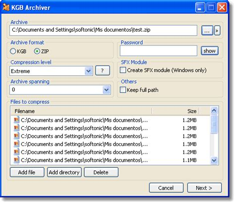 Format File Kgb | kgb archiver file compression free download movie and