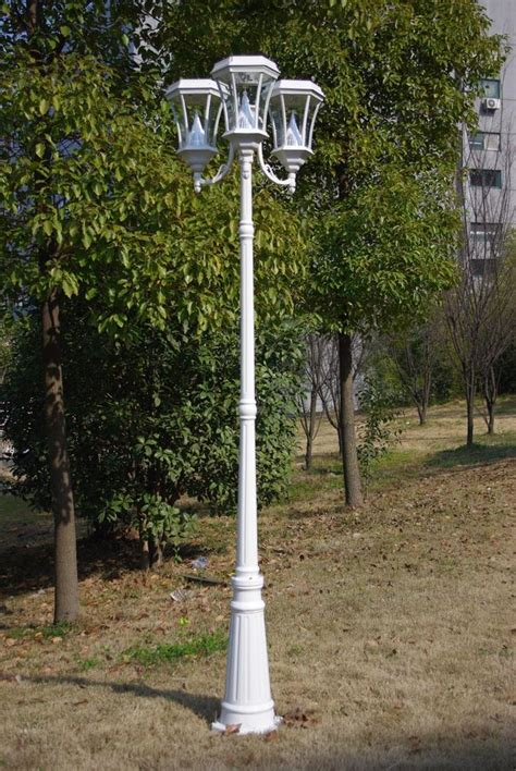 L Post Light by Solar Outdoor L Post Light 52 Quot Outdoor Solar Post L