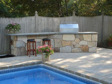 how to build a backyard patio how to build an outdoor bar and grill outdoor projects