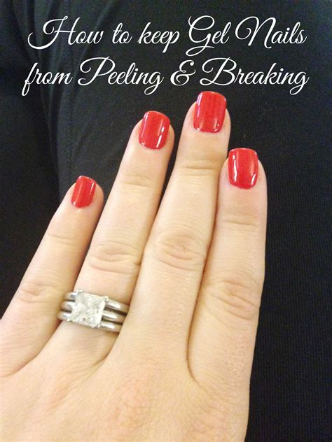 How To Keep Gel Nails From Breaking Or Peeling | how to keep gel nails from breaking or peeling